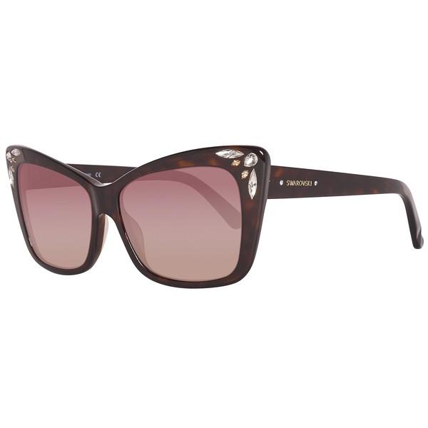 Gafas de sol mujer cal.56 acetato - havana oscuro/marrón