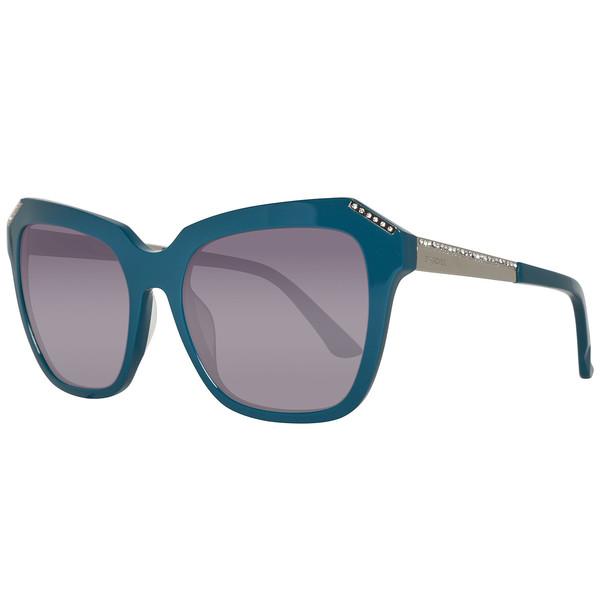 Gafas de sol mujer calibre 55 acetato - turquesa/humo