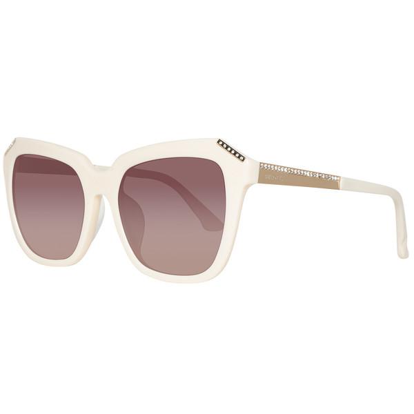 Gafas de sol mujer cal.55 acetato - marfil/marrón