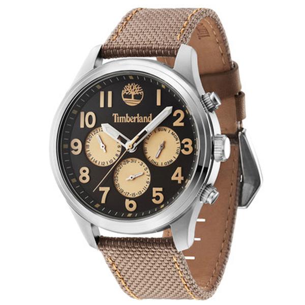 Reloj analógico hombre - marrón