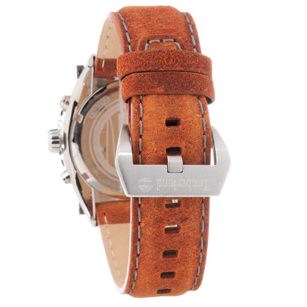 Reloj analógico hombre piel - marrón