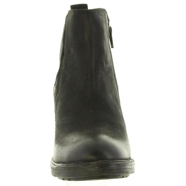 5cm Botín tacón mujer - negro