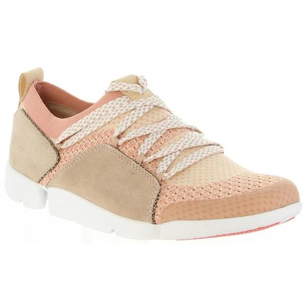Sneaker piel mujer - beige