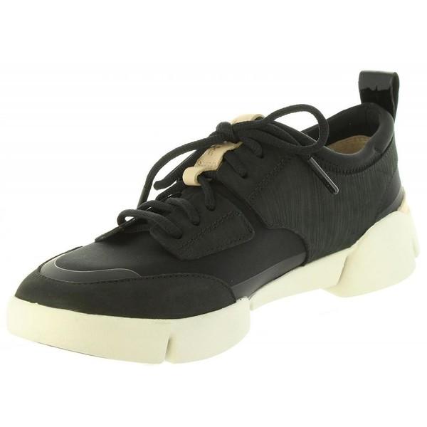 Sneaker piel mujer - negro