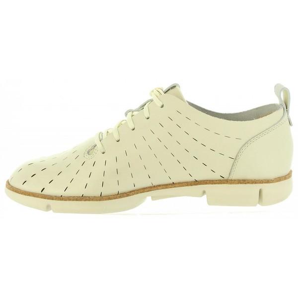 Sneaker piel mujer - blanco