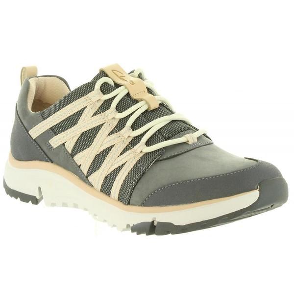 Sneaker piel mujer - gris
