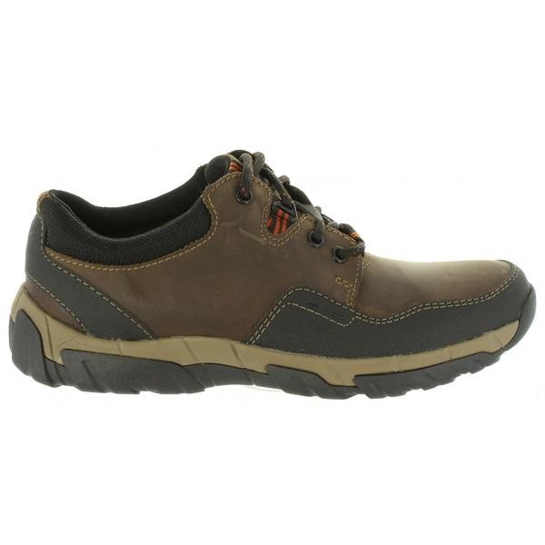 Clarks Marrón Zapato Hombre Piel Piel Clarks Hombre Zapato N0v8nmw