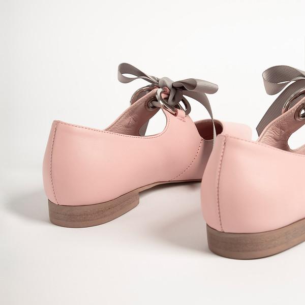 Bailarina mujer piel - rosado