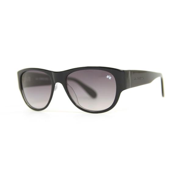 Gafas de sol unisex cal.56 acetato - negro