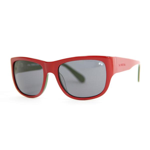 Gafas de sol unisex calibre 56 acetato - green/red