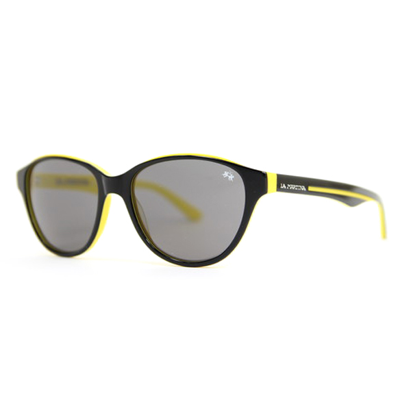 Gafas de sol unisex calibre 55 acetato - black/yellow