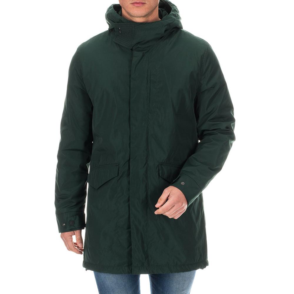 Abrigo acolchado hombre - verde oscuro