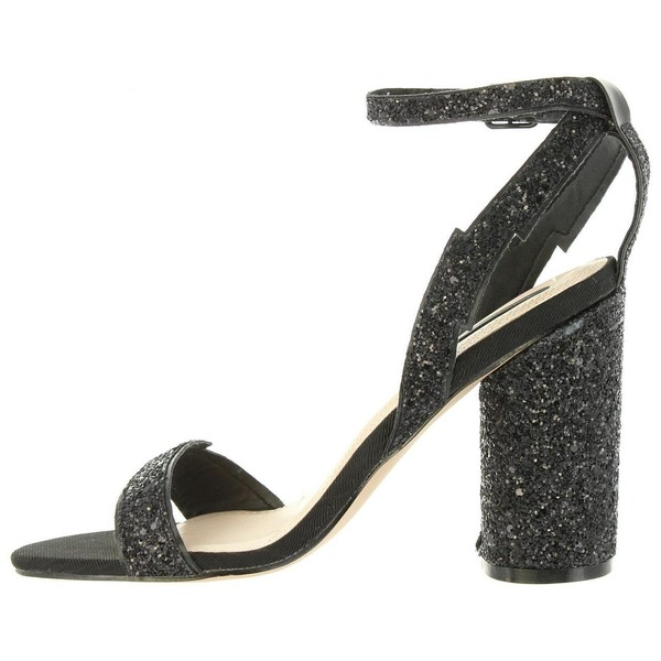 10cm Zapato tacón mujer - negro