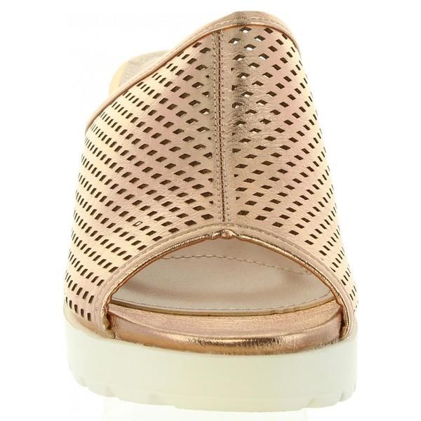 Sandalias tacón mujer - rosa