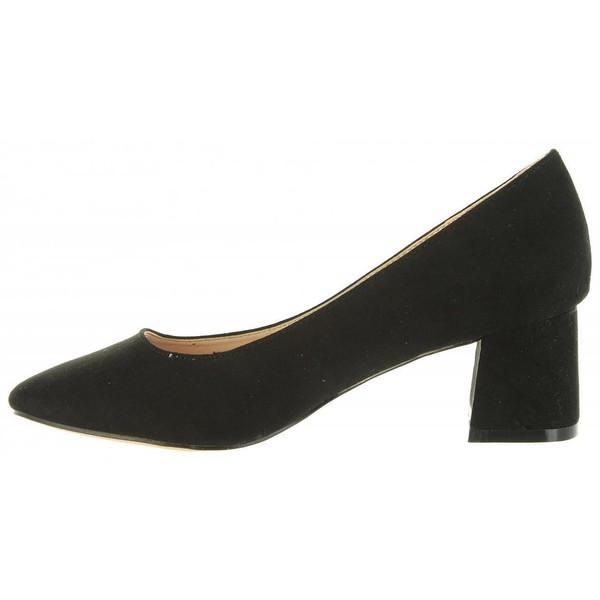 5cm Zapato tacón mujer - negro