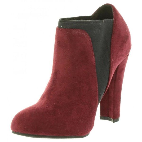 10cm Zapato tacón mujer - vino