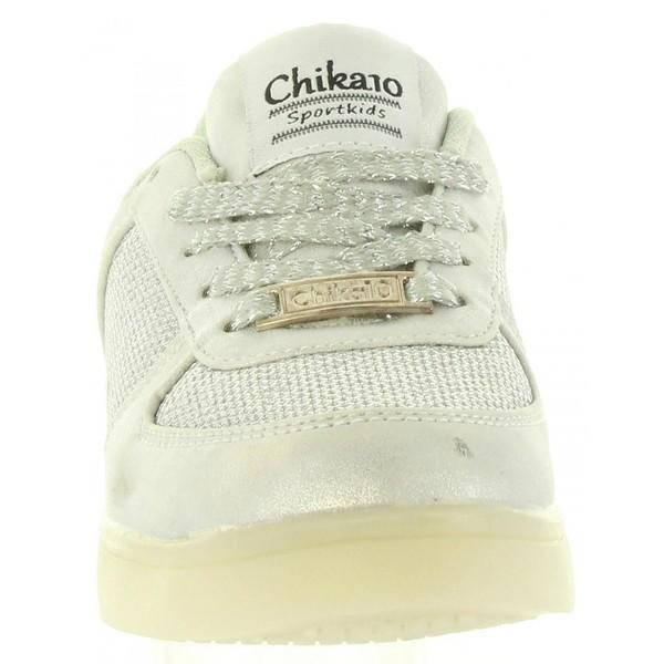 Sneaker niña - plateado