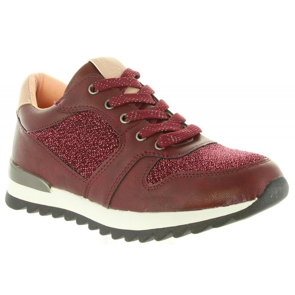 Sneaker niña - vino