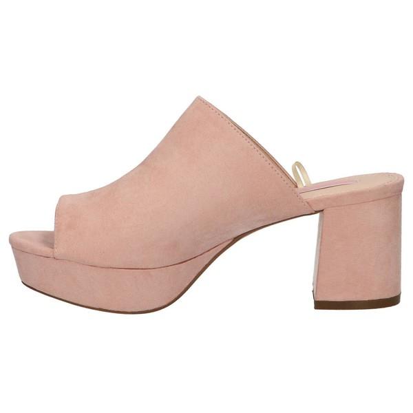 7cm Sandalia tacón mujer - rosa