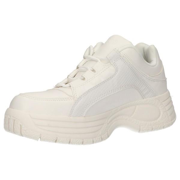 Sneaker chunky mujer - blanco