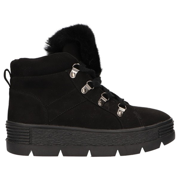 5cm Sneaker chunky mujer - negro