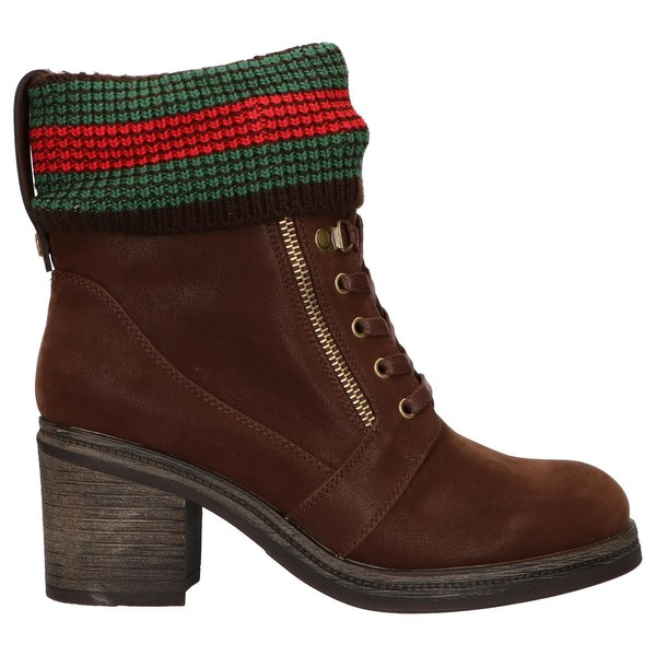 7cm Botines de mujer - marrón