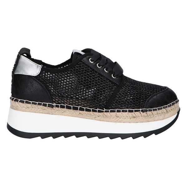 5cm Sneaker plataforma mujer - negro