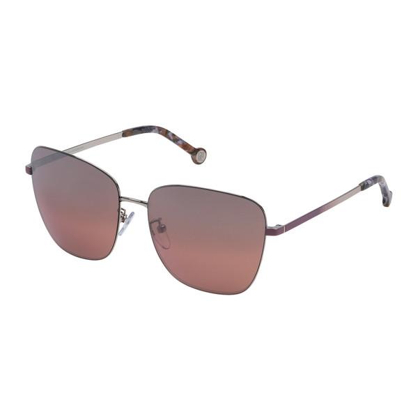 Gafas de sol metal mujer - granate