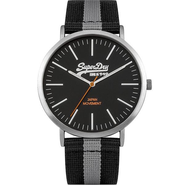 Reloj analógico hombre - negro/gris
