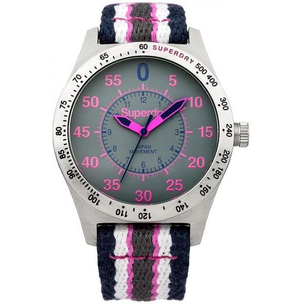 Reloj analógico mujer nylon - multicolor