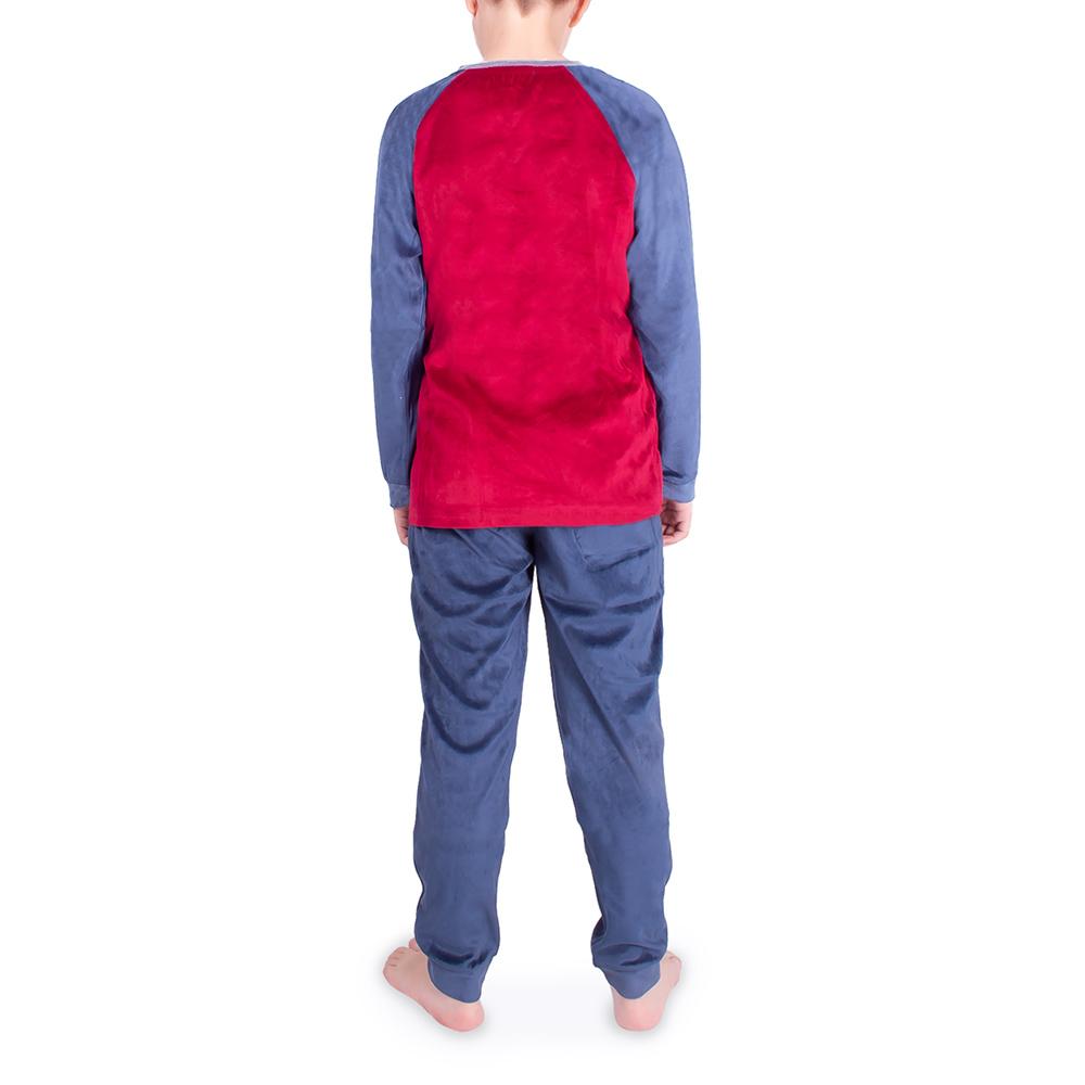 Pijama niño - granate