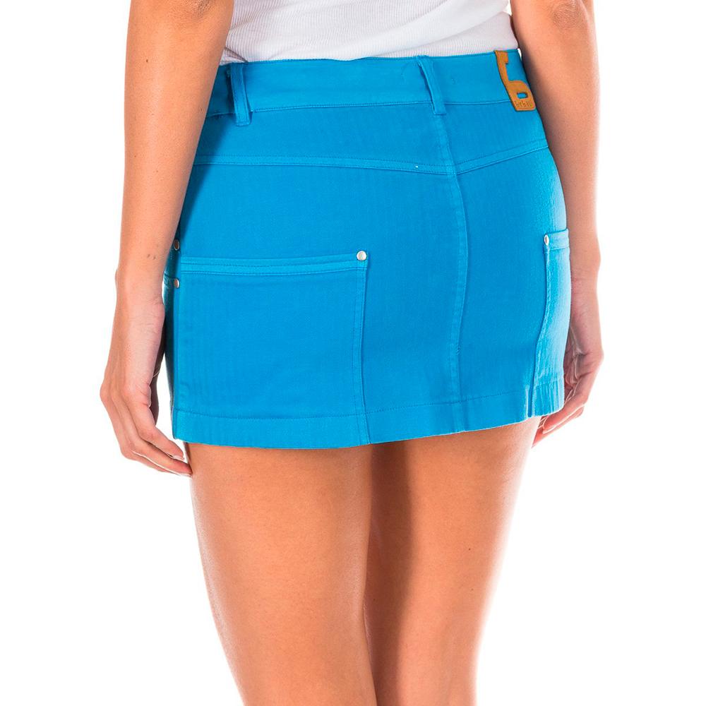 Falda tejana mujer - azul cobalto