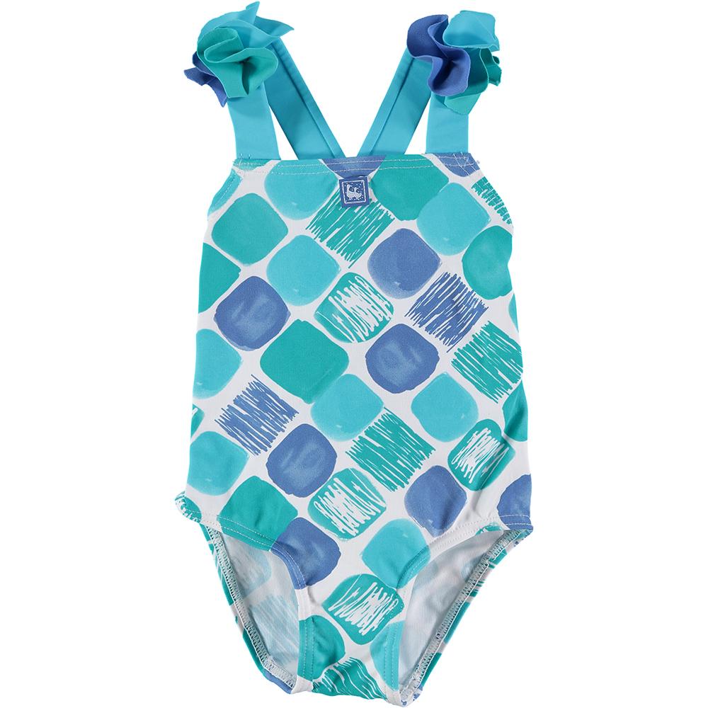 Bañador niña - azul