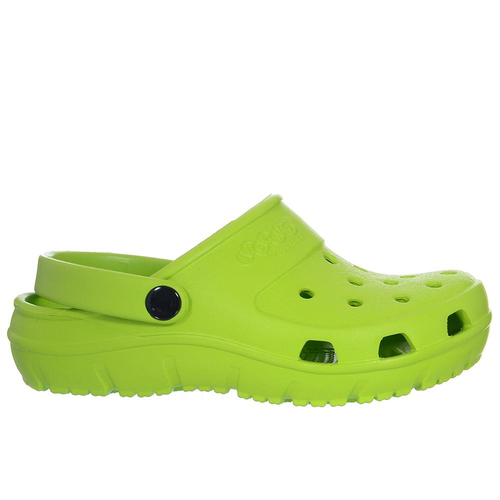 Zueco Presley clog infantil - verde