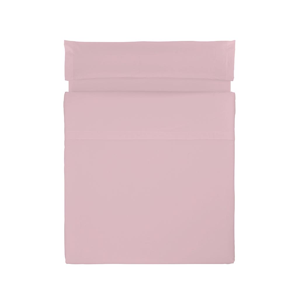 Juego sábanas liso - rosa