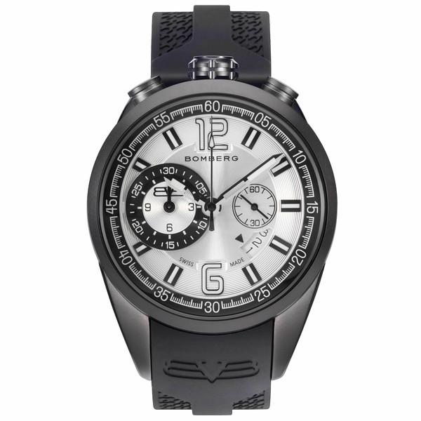 Reloj analógico acero/silicona hombre - negro/gris
