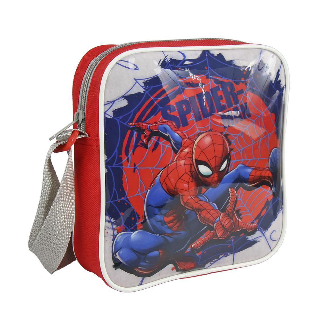 Bolso bandolera Spiderman - multicolor