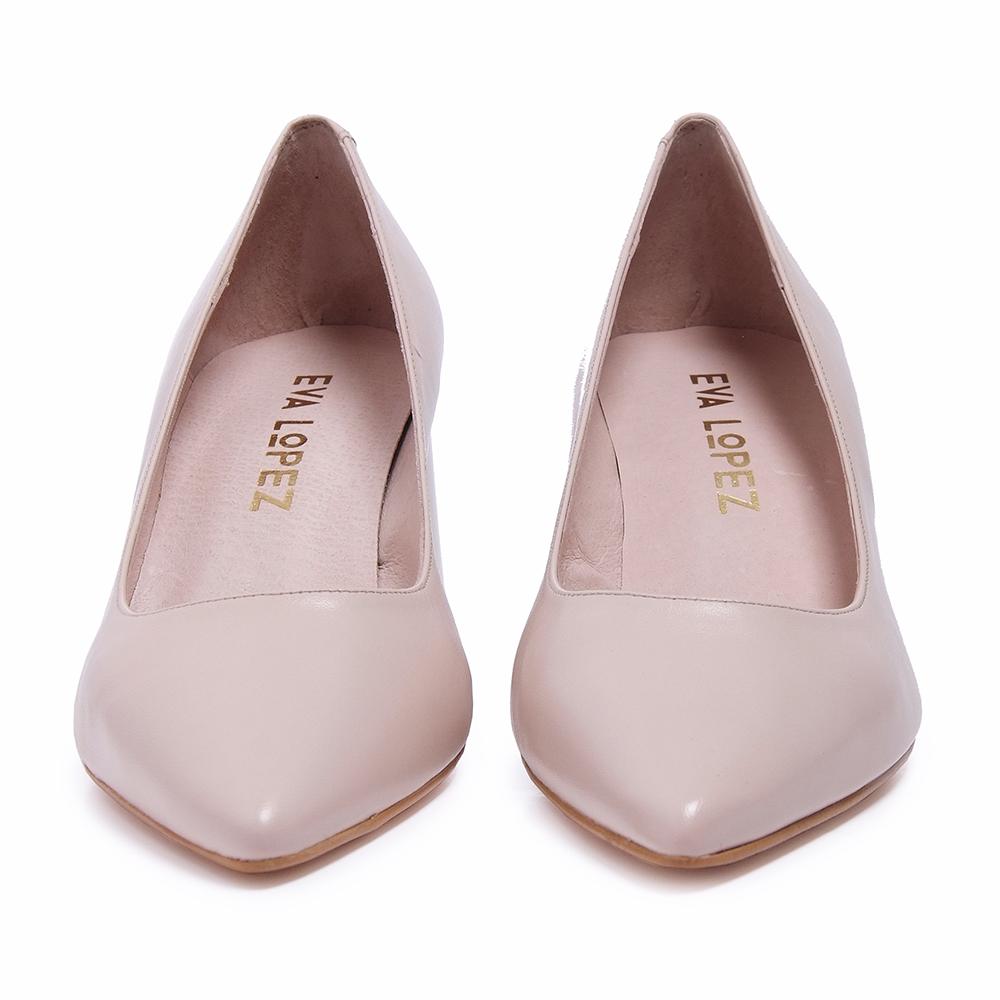 Nd Eva E501601 Nude Medio Lopez Piel Salón Zapato Tacón nFx1qaH8w6