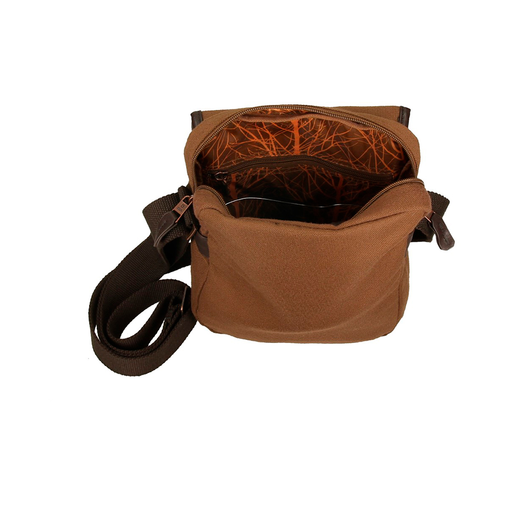 Bolso bandolera unisex - marrón