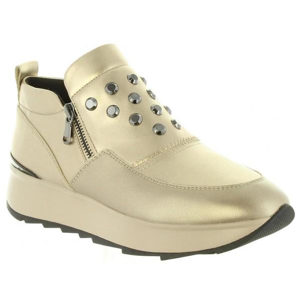 ee334f8607 Zapato piel Gendry mujer - dorado GEOX D745TA 0BVNF D GENDRY CB500 ...