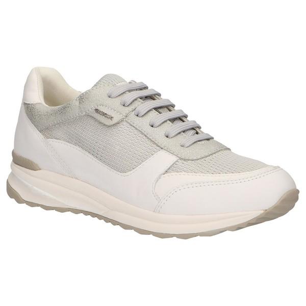 Sneaker mujer - plateado/blanco