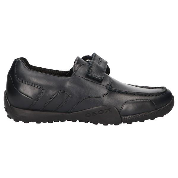 Zapato piel junior - azul