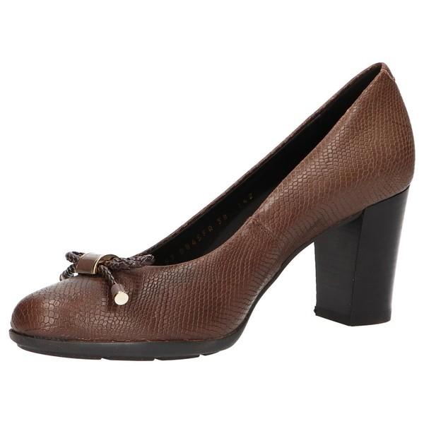 7cm Zapato tacón mujer - marrón