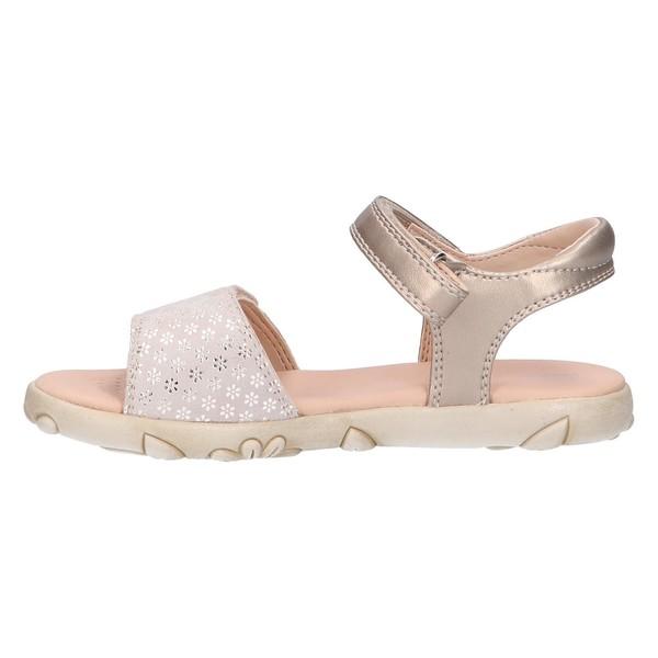 Sandalia infantil - plateado