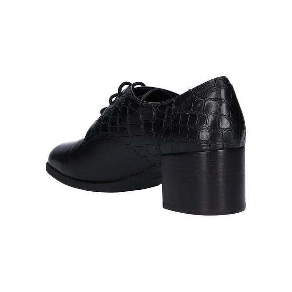 5cm Zapato tacón piel mujer - negro