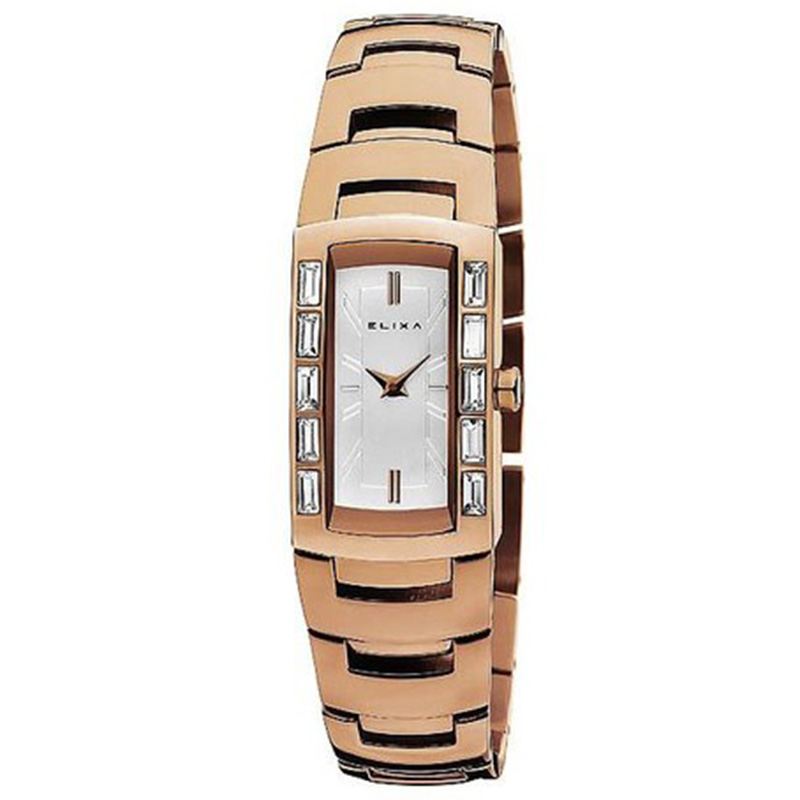 Reloj analógico acero mujer - or colore