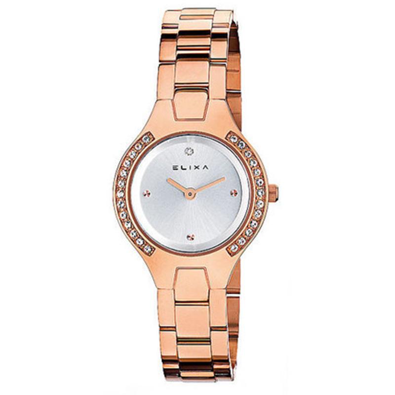 e7d5cdc9342e Reloj mujer analógico acero - cobre ELIXA E061-L186