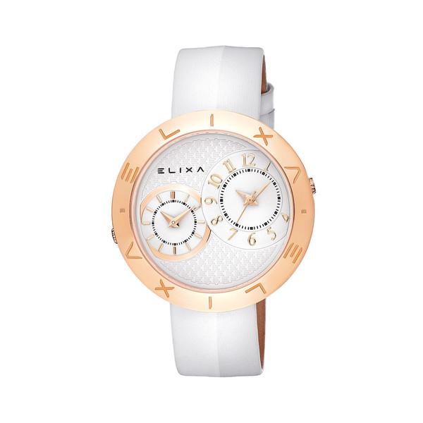 Reloj analógico raso mujer - blanco