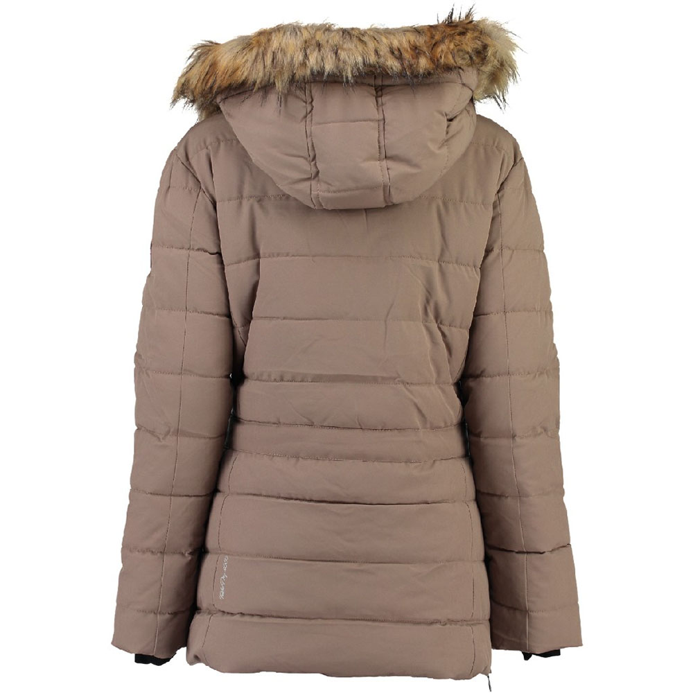 Parka mujer - taupe