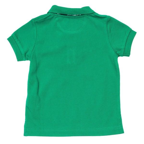 Polo m/corta infantil - verde